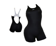 Speedo swimming suit c/perna superiority legsuit jr