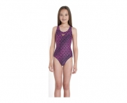 Speedo swimming suit of nataçao monogram allover splashback jr