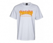 Thrasher t-shirt flame logo