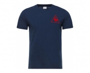 Le coq sportif t-shirt tri lf football