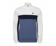 Le coq sportif sweat tricolores 1/2 zip n°1