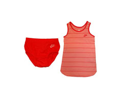 Nike pack camiseta alças+pantalón corto sunsport infant girls