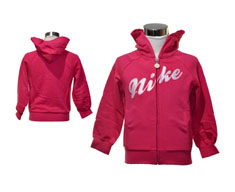 Nike casaco c/capuz essentials girls