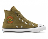 Converse sapatilha all star chuck taylor retrograde hi jr