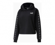 Puma sweat c/ capuz amplified cropped w