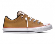 Converse sapatilha all star chuck taylor street ox jr
