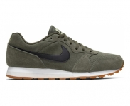 Nike sapatilha md runner 2 suede