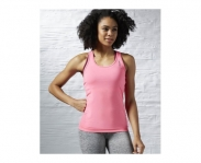 Reebok camiseta de alças work out ready fitted w
