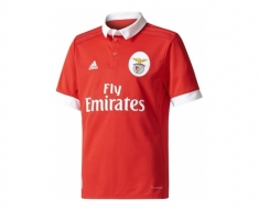 Adidas official shirt s.l.benfica 2017/2018 home jr