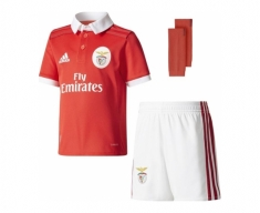Adidas mini kit oficial benfica 2017/2018 home jr