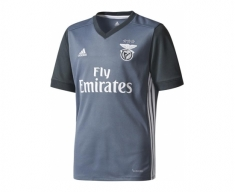 Adidas official shirt s.l.benfica 2017/2018 away jr