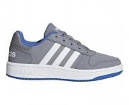 Adidas zapatilla vs hoops 2.0 k