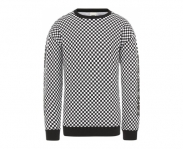 Vans sweat centrl crew checkerboard