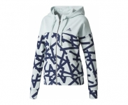 Adidas chaqueta c/ capuz essentials all over print w