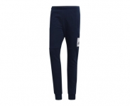 Adidas calça fato de treino essentials box logo slim tapered french