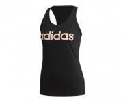 Adidas camiseta alças essentials linear slim w