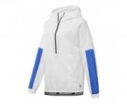 Reebok sweat c/ capuz workout ready novelty woven w