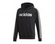 Adidas sweat c/ capuz essentials 3 stripes