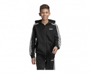 Adidas jaqueta c/ capuz essentials 3s k