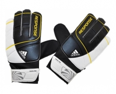 Adidas gloves of goalkeeper response yp