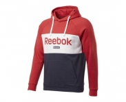 Reebok sweat c/ capuz big logo