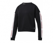Reebo sweat linear logo crew w