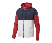 Reebok jaqueta training essentials windbreaker
