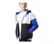 Reebok casaco c/ capuz linear logo windbreaker