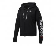 Reebok casaco c/ capuz linear logo w