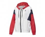 Reebok casaco c/ capuz linear logo windbreaker w