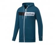 Reebok jacket c/ capuz linear logo