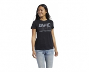 Reebok t-shirt ufc fan gear logo w