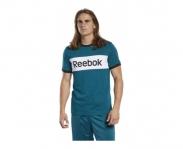 Reebok camiseta linear logo color blocked