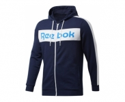 Reebok casaco c/ capuz training essentials logo