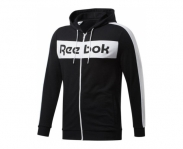 Reebok jacket c/ capuz training essentials linear logo