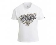 Adidas t-shirt leopard w