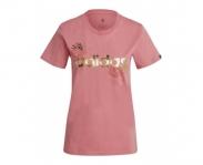 adidas t-shirt linear foil graphic w