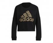 Adidas sweat leopard w
