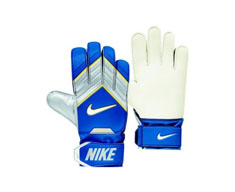Nike gloves of goalkeeper tiempo match