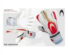 Ho gloves of goalkeeper aquagrip vi