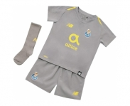 New balance mini kit oficial f.c.porto away 2018/2019 inf