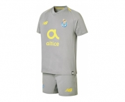 New balance mini kit oficial f.c.porto away 2018/2019 jr