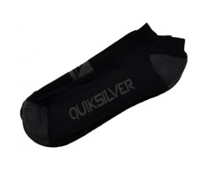 Quiksilver meias pack 3 invisible