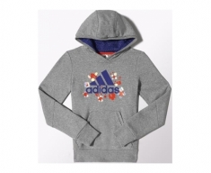 Adidas sweat c/capuz wardrobe dance jr