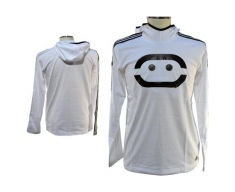 Adidas long sleeve with hood bnce