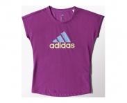 Adidas t-shirt wardrobe brand logo