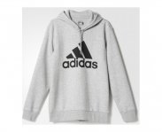 Adidas sweat c/capuz sport essentials logo
