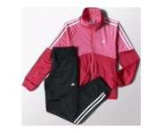 Adidas fato of treino separates closed polyester girl