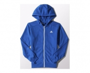 Adidas jacket with hood essentials french terry