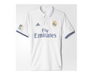 Adidas camiseta oficial real madrid 2016/2017 home